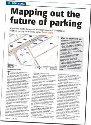 Buchanan Order Management – Parking Review article about map-based Traffic Orders